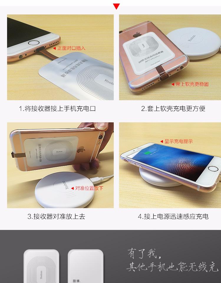 羽博苹果充电器无线三星打开安卓手机s7edge华为手机怎样通用装卡?图片