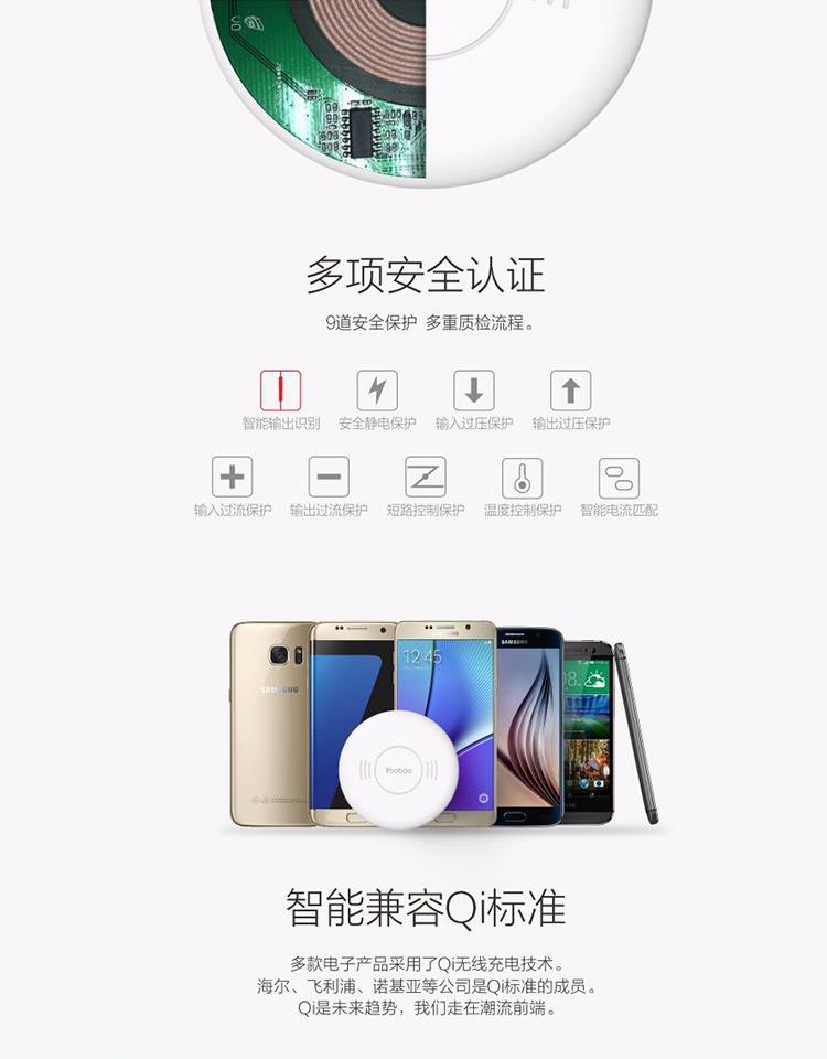 羽博苹果充电器照片三星通用安卓手机s7edgeiphone6关闭v苹果无线图片