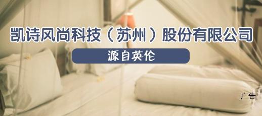 凯诗风尚科技(苏州)股份有限公司
